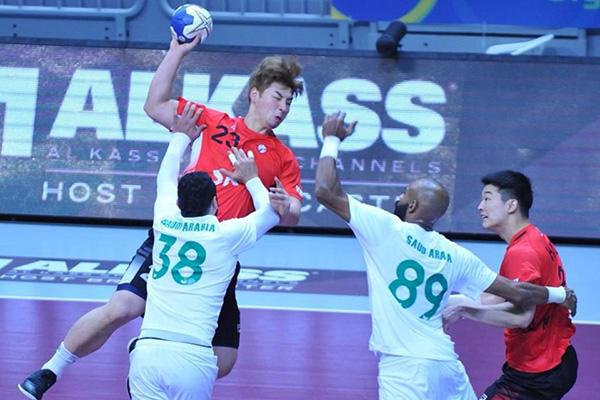 男子ハンドボール、日本と対戦へ アジア選手権