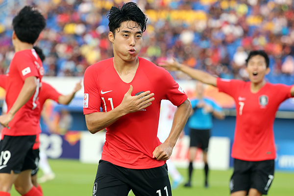 S. Korea Defeats Iran 2-1 to Advance to Quarterfinals of Olympic Football Qualifier