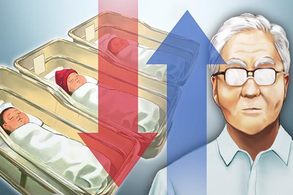 В РК продолжается старение общества