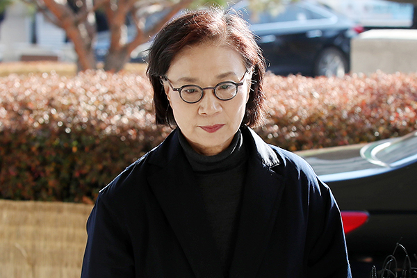 Prison Term Sought for Wife of Late Hanjin Group Chief on Assault Charges