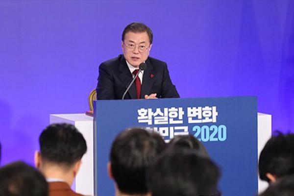وسائل الإعلام اليابانية تقيّم المؤتمر الصحفي للرئيس الكوري بمناسبة العام الجديد