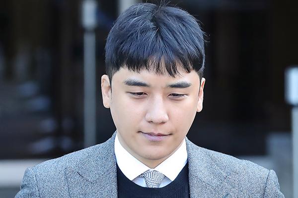 Nouveau rejet du mandat d'arrêt contre l'ex-chanteur Seung-ri