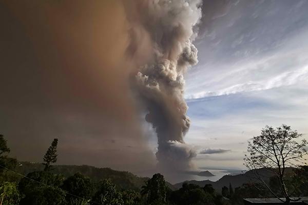 Volcan Taal : l'ambassade de Corée du Sud à pied d'oeuvre pour ses ressortissants