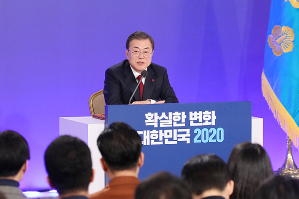 Moon Seeks Sanctions Breakthrough by Improving South-North Ties