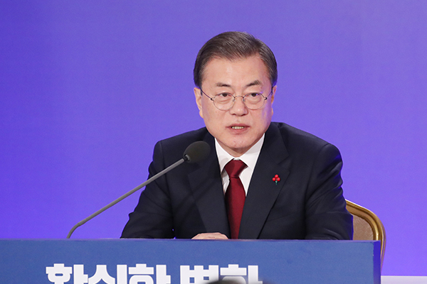 Moon Stresses Need to Expand Inter-Korean Cooperation