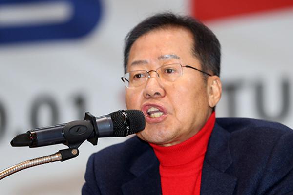 """홍준표 """"경남 밀양서 출마…PK 결집 주도할 것"""""""