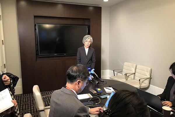 FM Kang: Inter-Korean Cooperation Could Resume Before US-N. Korea Talks