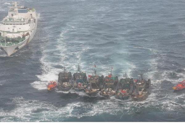 '불법 조업' 외국어선 감소세…지난해 115척 나포