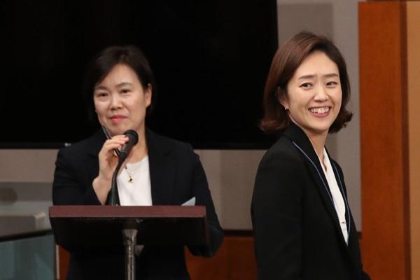 고민정 대변인·유송화 춘추관장 사직…청와대 총선출마 인사 마무리