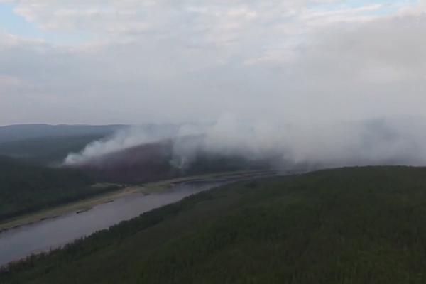 El incendios forestales en Siberia afectan a la atmósfera coreana