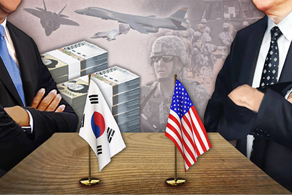 미 국무·국방장관 공동 기고로 방위비 압박…