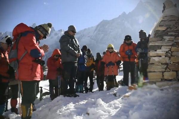 Vụ 4 công dân Hàn Quốc mất tích ở núi Annapurna đã bước sang ngày thứ tư