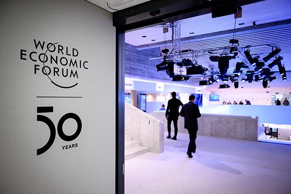 Präsident Moon hält Rede bei virtuellem Treffen des Weltwirtschaftsforums