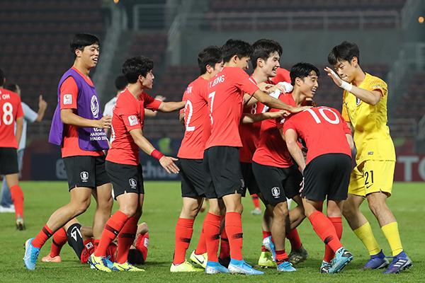 Сборная РК победила на Молодёжном чемпионате Азии по футболу