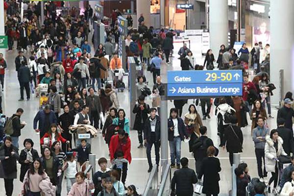 「ソル」の連休 104万人が仁川空港利用の見通し
