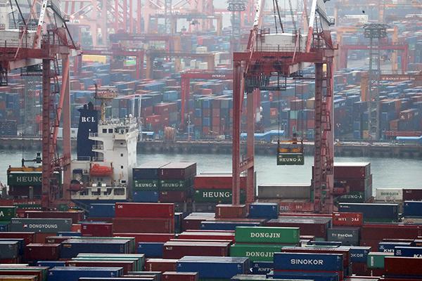 تراجع الصادرات الكورية خلال ال20 يوما الأولى من هذا العام