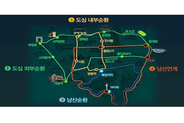 Thành phố Seoul triển khai tuyến xe buýt xanh để giảm thiểu bụi nhỏ