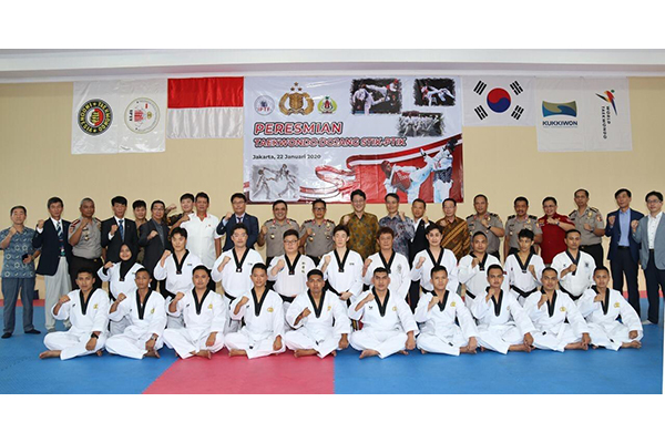 Akademi Kepolisian Indonesia Buka Tempat Latihan Taekwondo