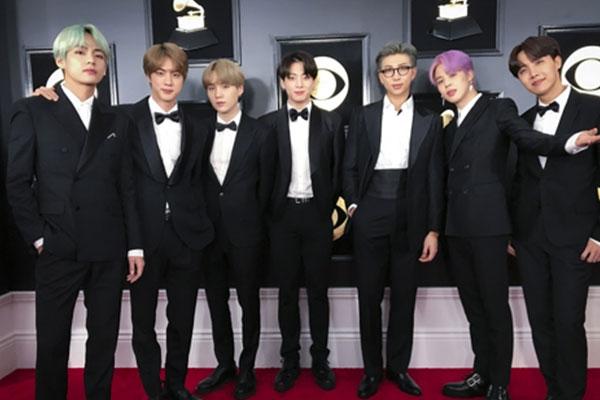 BTS sẽ biểu diễn trên sân khấu lễ trao giải Grammy lần thứ 62