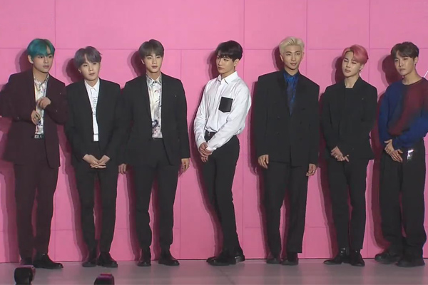 BTS to be First S. Korean Artist to Perform at Grammy Awards