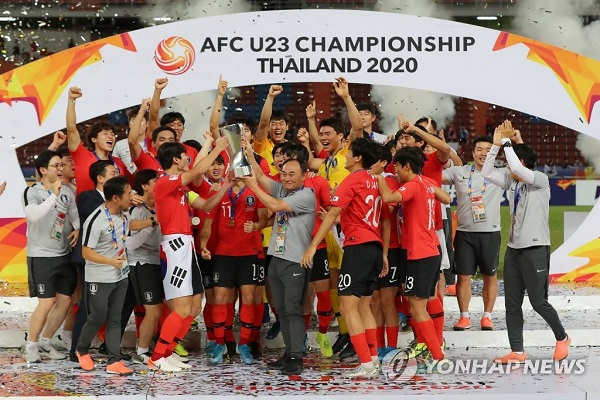 S. Korea Defeats Saudi Arabia to Win AFC U-23 Championship Title
