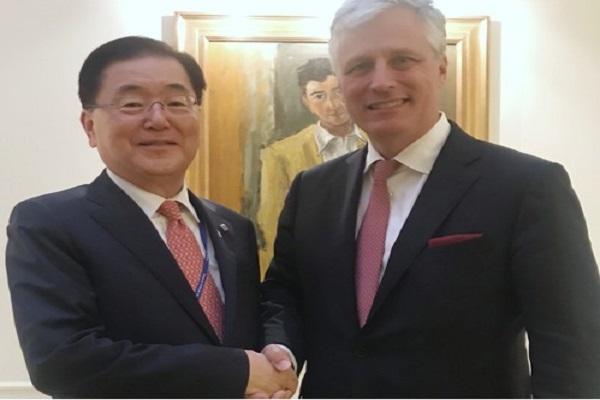 الولايات المتحدة تؤكد مجددا دعمها للتعاون بين الكوريتين