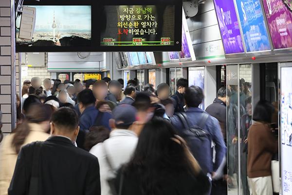 Metro Seúl registró más de 2.700 millones de usuarios en 2019