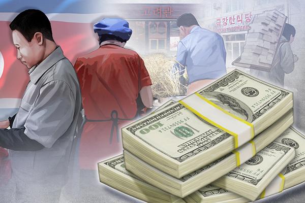 Les réserves de change en Corée du Nord auraient atteint entre 3 et 6,6 milliards de dollars en 2014