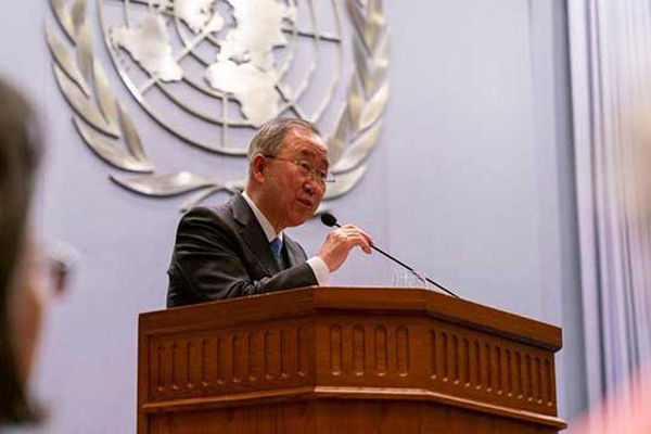Current, Former UN Chiefs Call for Resolving Myanmar Crisis