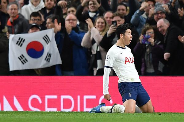 Son Heung Min anota en cuatros partidos consecutivos