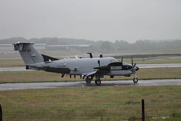 Mỹ cử máy bay trinh sát đặc biệt tác chiến gần biên giới liên Triều
