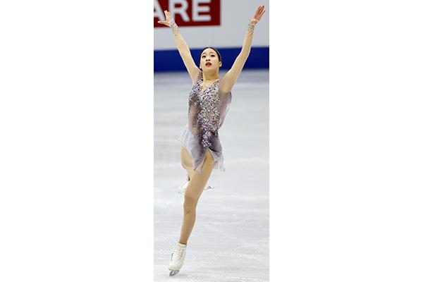 You Young aspira a medalla en patinaje artístico en el Campeonato Cuatro Continentes
