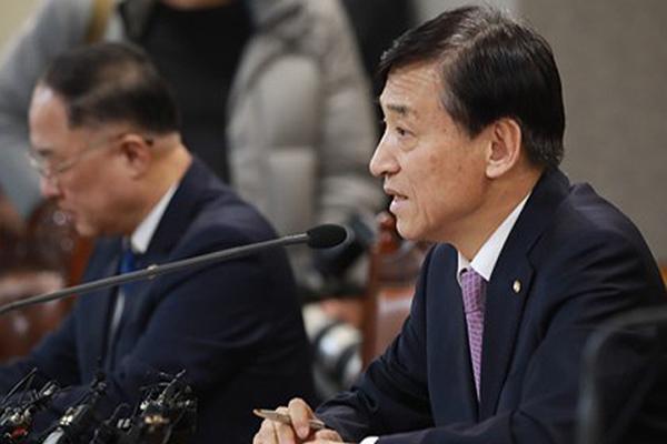"""이주열 한은 총재 """"기준금리 인하 논의 안 돼…신중하게 판단"""""""