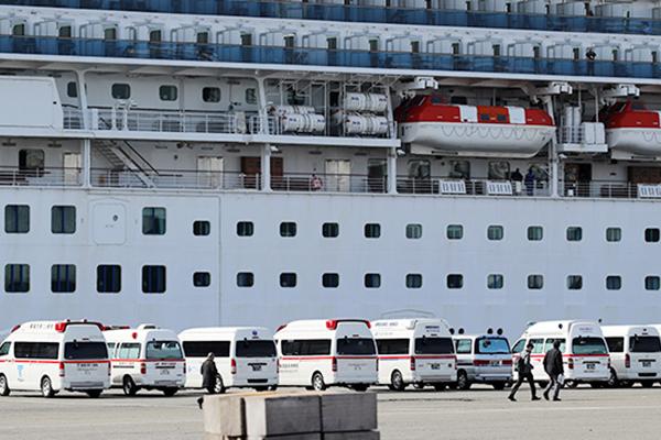 Korsel Usahakan Warganya Diturunkan Terlebih Dahulu dari Kapal Diamond Princess, Jepang