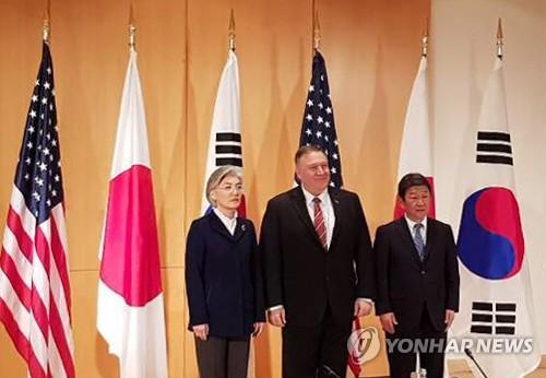 سيول وواشنطن وطوكيو تؤكد من جديد على التعاون الوثيق بشأن كوريا الشمالية