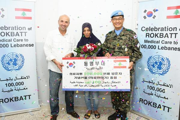Lực lượng Dongmyung hoàn thành 100.000 lần tác chiến gìn giữ hòa bình tại Lebanon