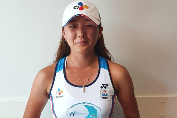 Tennisspielerin Park So-hyun steht im Viertelfinale des ITF-Turniers von Antalya