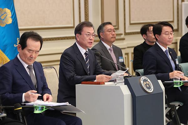 Moon Jae-in s'engage à relancer l'économie nationale