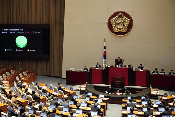 Открылась внеочередная сессия Национального собрания РК
