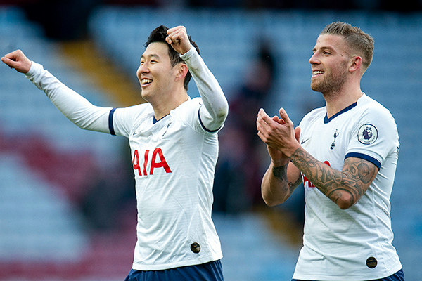 Football : Son Heung-min inscrit un doublé face à Aston Villa et porte son compteur à 50 buts