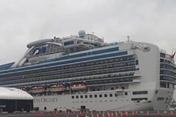 Two More S. Koreans to Evacuate Quarantined Cruise Ship in Japan