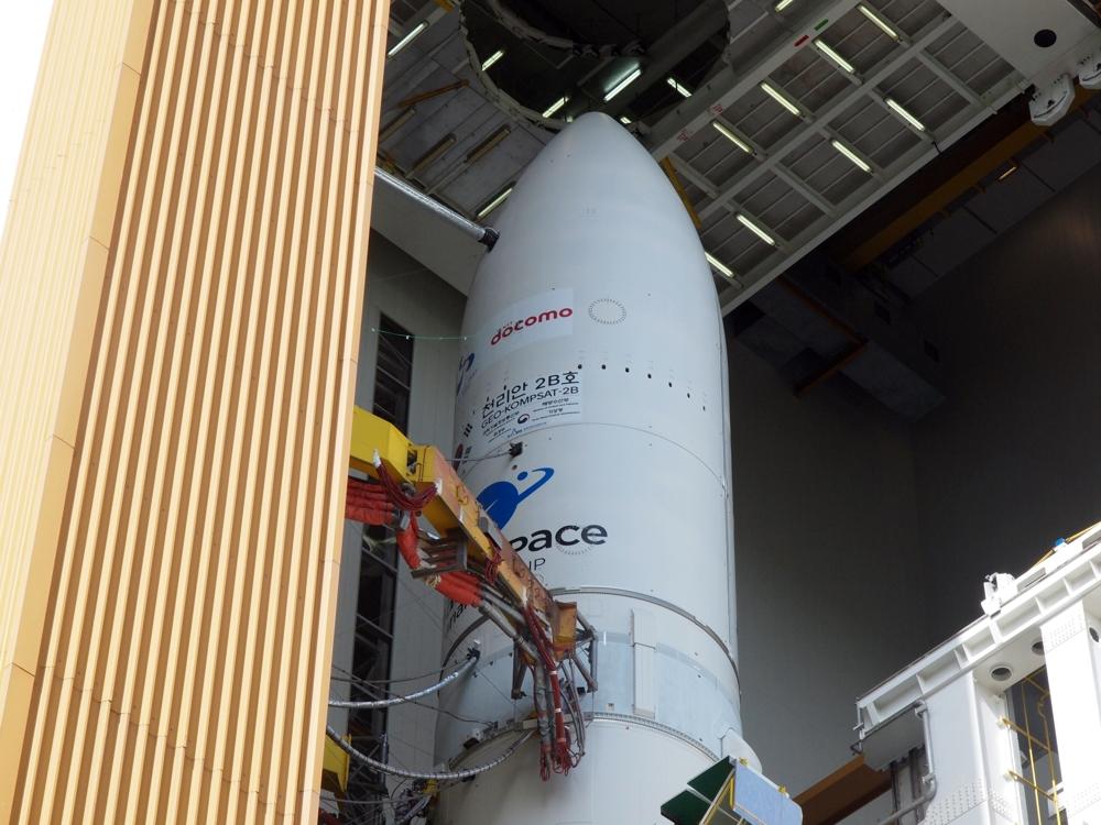19 февраля будет запущен метеорологический спутник Geo-KOMPSAT 2B
