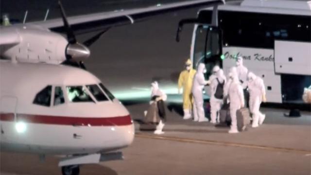 Tujuh Orang yang Dievakuasi dari Kapal Pesiar Jepang Telah Tiba di Korsel