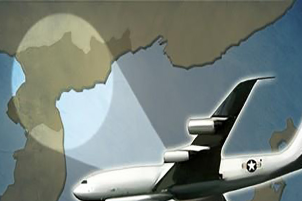 Máy bay trinh sát E-8C của Mỹ xuất hiện trên không phận bán đảo Hàn Quốc lần thứ ba trong tháng 2