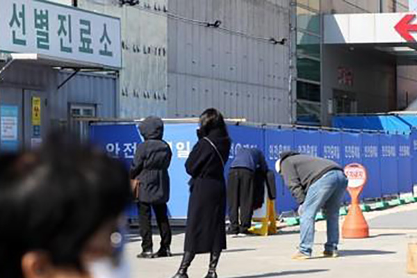 No. of Coronavirus Patients in S. Korea Tops 100