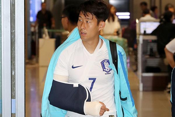 Football : saison terminée pour Son Heung-min