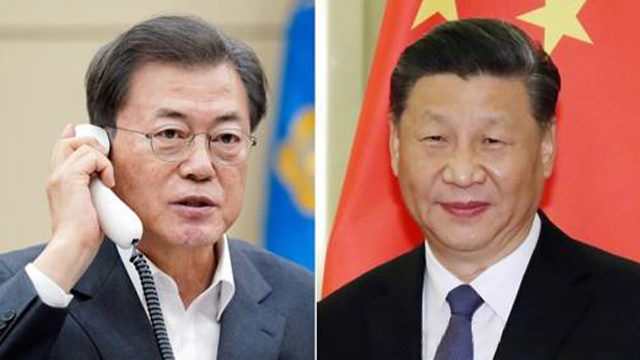 Leaders of S. Korea, China Agree to Share COVID-19 Clinical Data in Joint Fight Against Virus