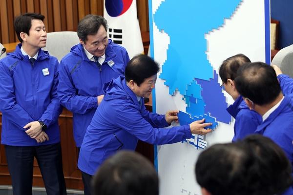 共同民主党选举对策委员会19日成立
