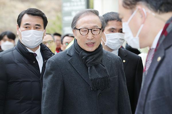 '징역 17년·재수감' 이명박 전 대통령, 항소심에 불복해 상고