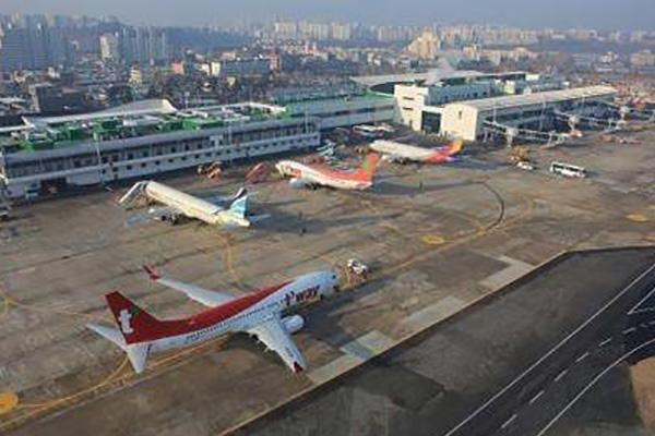 Corea suspende las rutas aéreas nacionales con Daegu
